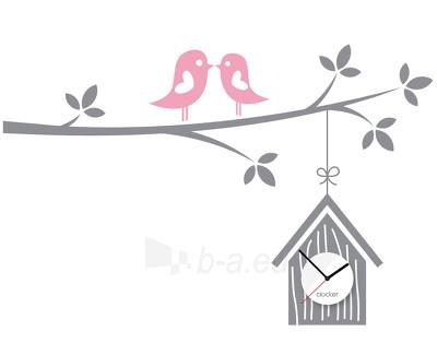 Sianinis laikrodis Clocker Birdhouse Paveikslėlis 1 iš 1 310820027814