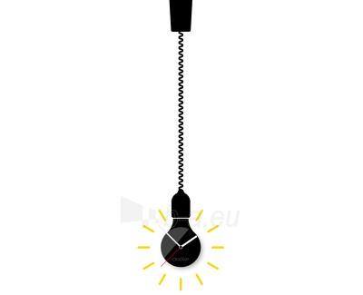 Sianinis laikrodis Clocker Bulb Paveikslėlis 1 iš 1 310820027815