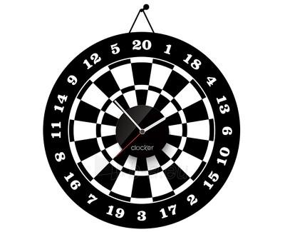 Sianinis laikrodis Clocker Bullseye Paveikslėlis 1 iš 1 310820027818