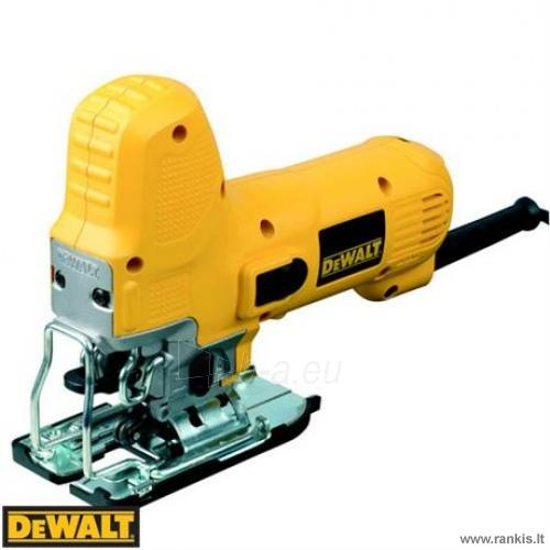 DeWalt DW343K siaurapjūklis Paveikslėlis 1 iš 2 310820054736