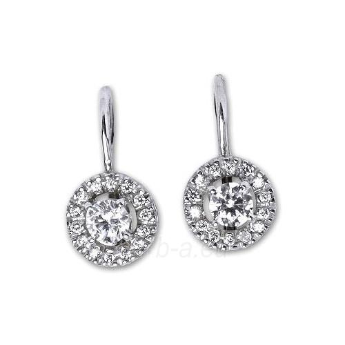 Sidabriniai earrings E0239 CZ Paveikslėlis 1 iš 2 30070003057