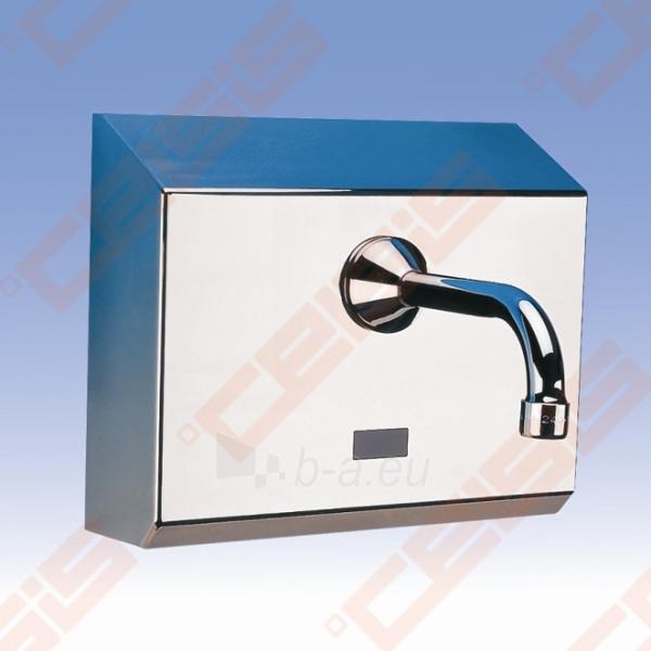 Sieninis bekontaktis praustuvo maišytuvas SANELA su maitinimu nuo baterijos Paveikslėlis 1 iš 3 270722000820