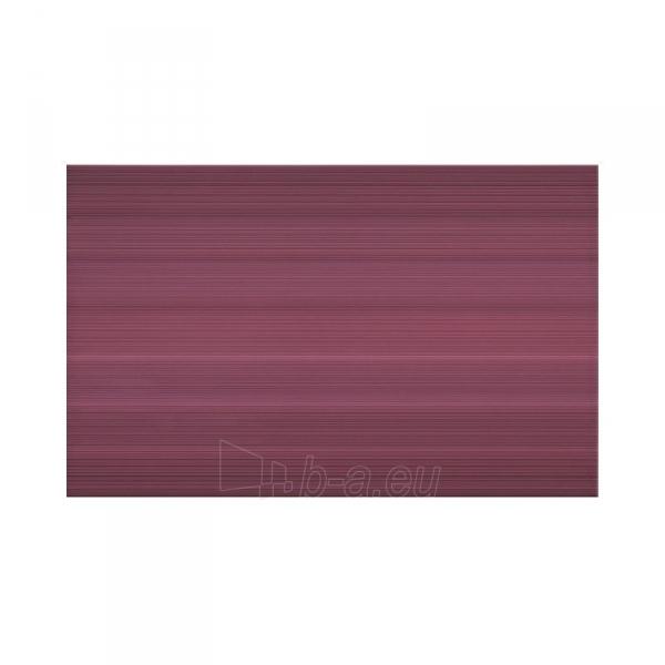 Sienų plytelės LORIS violetinė str. 25x40 cm Paveikslėlis 1 iš 1 310820062555