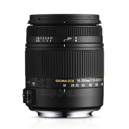 Sigma 18-250mm F3.5-6.3 DC Macro OS HSM for Nikon Paveikslėlis 1 iš 1 250222040100399
