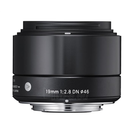 Sigma EX 19mm F2.8 DN for Sony Nex, Black Paveikslėlis 1 iš 1 250222040101163