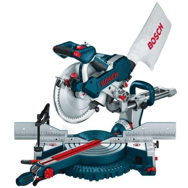Sijų pjaustymo pjūklas Bosch GCM 10 SD Professional Paveikslėlis 1 iš 1 225212000130