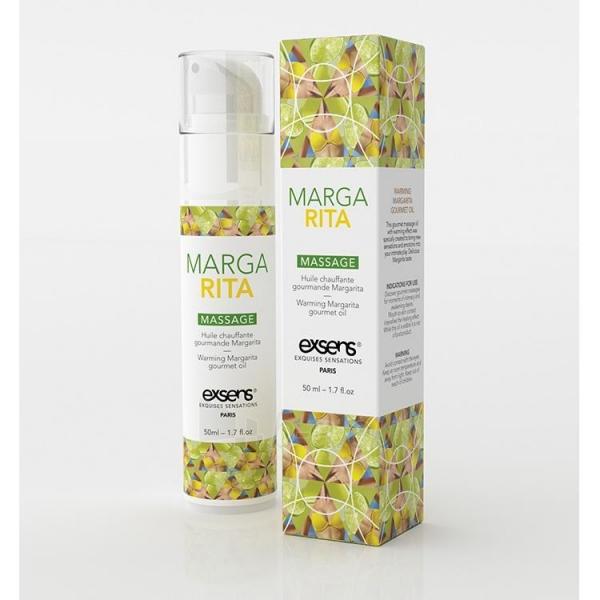 Šildantis masažo aliejus Margarita (50 ml) Paveikslėlis 1 iš 2 2514124000169