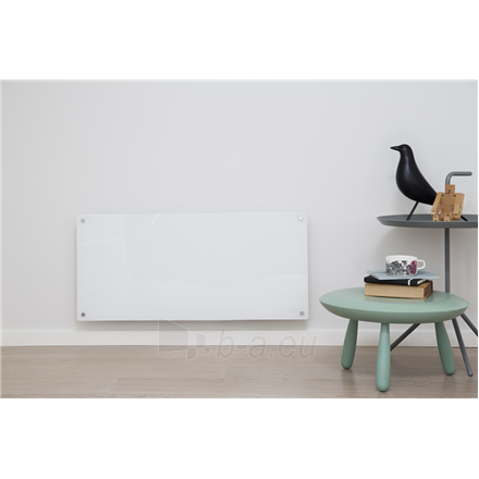 Šildytuvas Mill Glass MB900DN G Panel Heater, 900 W, Suitable for rooms up to 15 m², Number of fins Inapplicable, Grey Paveikslėlis 2 iš 5 310820223231