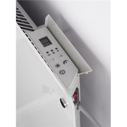 Šildytuvas Mill Glass MB900DN G Panel Heater, 900 W, Suitable for rooms up to 15 m², Number of fins Inapplicable, Grey Paveikslėlis 5 iš 5 310820223231