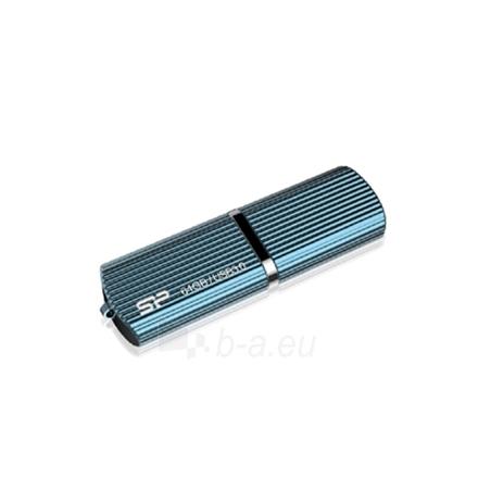 SILICON POWER 64GB, USB 3.0 FlASH DRIVE, MARVEL SERIES M50, Blue Paveikslėlis 1 iš 3 250255121785
