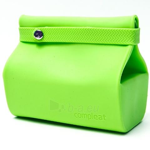 Silikoninis maišelis maistui FoodBag, žalias Paveikslėlis 1 iš 12 310820012559