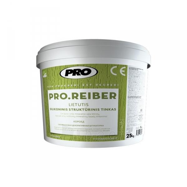 Silicone structural decorative plaster PRO REIBER lietuti Paveikslėlis 1 iš 1 236760100380