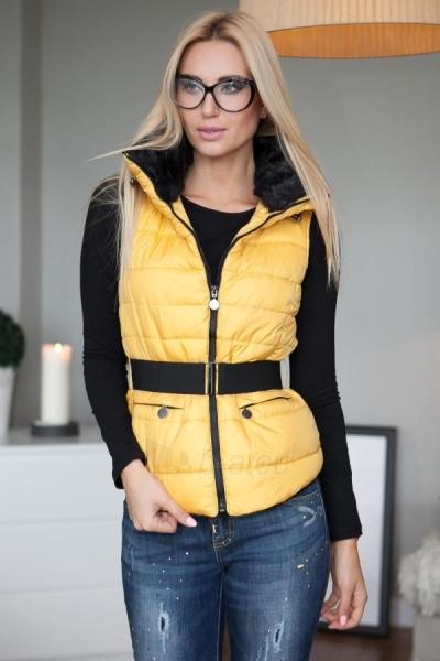 Šilta moteriška liemenė Obona (geltonos spalvos) Paveikslėlis 1 iš 4 310820032491