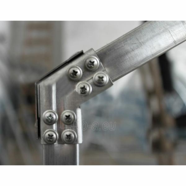 Šiltnamis CLASSIC (10 m2) 2500x4000x2200 su 6 mm polikarbonato danga Paveikslėlis 7 iš 7 310820079373