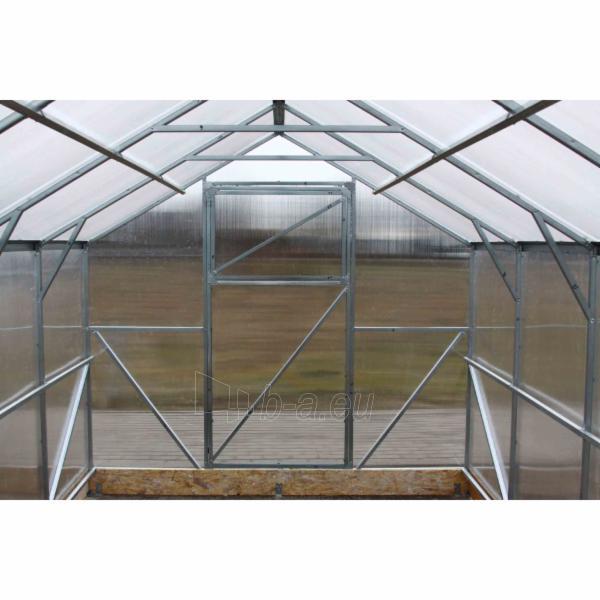 Šiltnamis CLASSIC (15 m2) 2500x6000x2200 su 4 mm polikarbonato danga Paveikslėlis 3 iš 7 310820079378