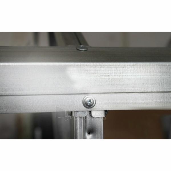 Šiltnamis CLASSIC (15 m2) 2500x6000x2200 su 4 mm polikarbonato danga Paveikslėlis 4 iš 7 310820079378