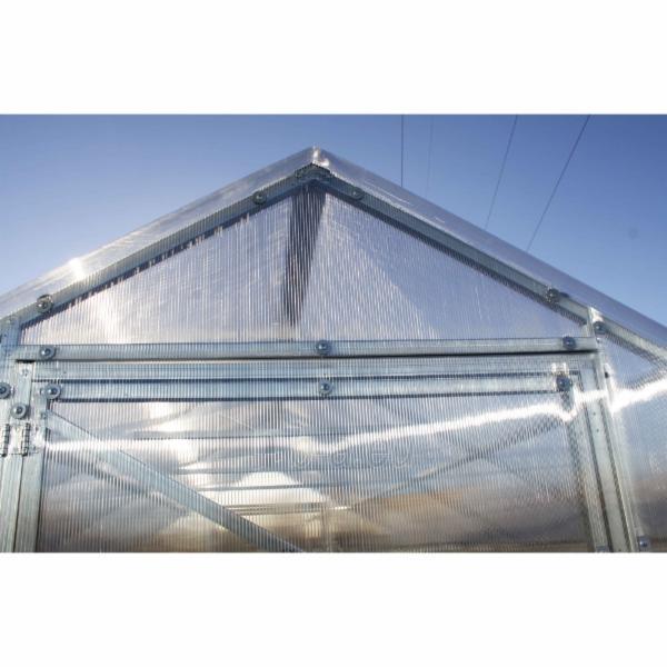 Šiltnamis CLASSIC (15 m2) 2500x6000x2200 su 4 mm polikarbonato danga Paveikslėlis 6 iš 7 310820079378