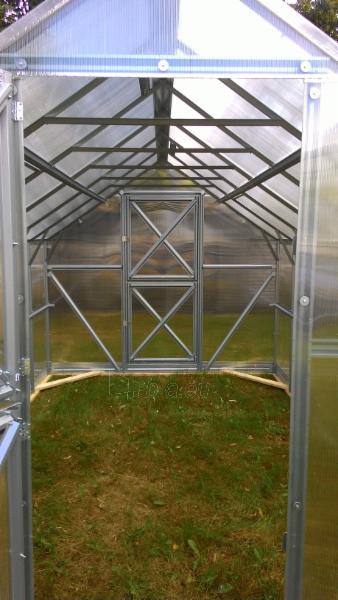 Šiltnamis GASPADINĖ (26,4m2) 10000x2640x2420 su 4mm polikarbonato danga Paveikslėlis 2 iš 2 238700000231