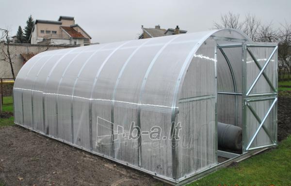 Greenhouse Gaspadorius 10000x2870x2250 (28,70m2) su 6 mm. polikarbonato danga Paveikslėlis 2 iš 5 310820038918