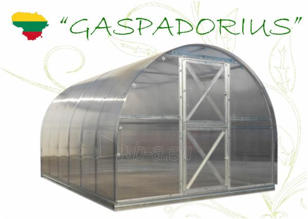 Greenhouse Gaspadorius 10000x2870x2250 (28,70m2) su 6 mm. polikarbonato danga Paveikslėlis 5 iš 5 310820038918