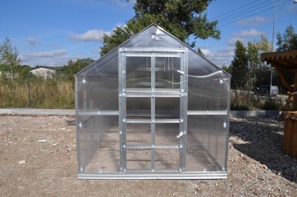 Šiltnamis HOUSE*KLASIKA 2 (4,98m2) 2350x2120 su 6mm polikarbonato danga Paveikslėlis 2 iš 4 238700000210