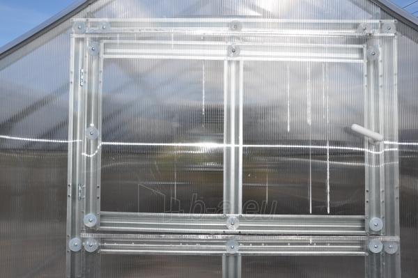 Šiltnamis HOUSE*KLASIKA 2 (4,98m2) 2350x2120 su 6mm polikarbonato danga Paveikslėlis 4 iš 4 238700000210