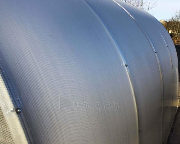 Šiltnamis MASTER25C 3000x8000x2100 su 6mm polikarbonato danga (galai surinkti,suvirinti) Paveikslėlis 5 iš 5 310820073503