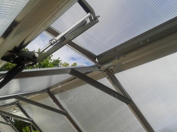 Šiltnamis Standart KLASIKA 25m2 (5 stoglangiai) 2,5x10 su 4 mm.polikarbonato danga Paveikslėlis 3 iš 4 238700000219