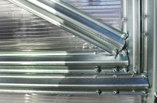 Šiltnamis UNIVERSAL (30m2) 3000x10000x2100 su 6 mm polikarbonato danga Paveikslėlis 4 iš 7 310820073509