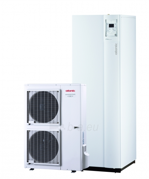 Šilumos siurblys oras/vanduo Atlantic Alfea Excellia Hybrid Duo Gas TRI 16 Paveikslėlis 1 iš 2 310820165623