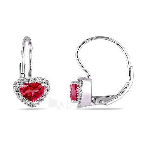 Silvego sidabriniai earrings with cirkoniu HHE1262 Paveikslėlis 1 iš 2 310820024749