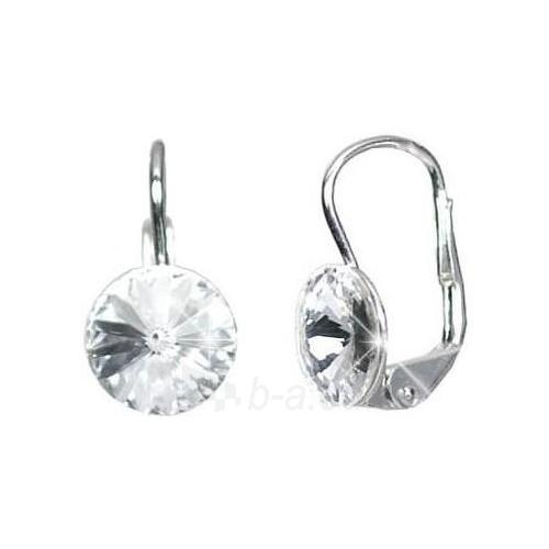 Silvego sidabriniai auskarai su skaidriu kristalu BSG31369-M Paveikslėlis 1 iš 2 310820024460