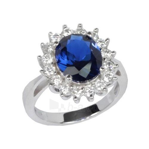 Silvego sidabrinis žiedas princesė Kate TXR903091 (Dydis: 59 mm) Paveikslėlis 1 iš 2 310820023382