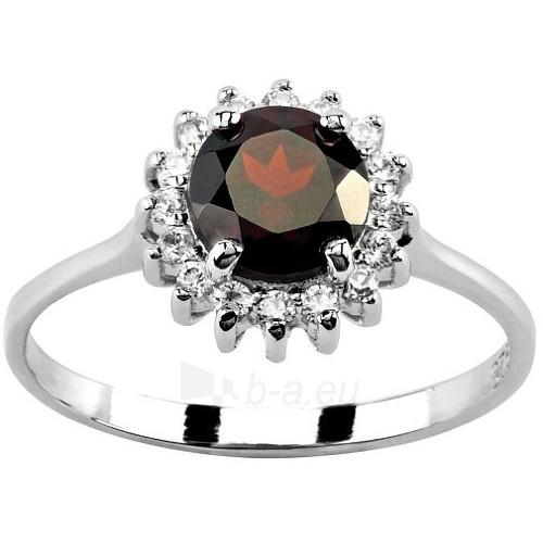 Silvego Stříbrný prsten s granátem FNJR1049-GA (Dydis: 51 mm) Paveikslėlis 1 iš 2 310820005097