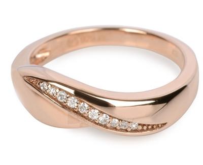 Silver Cat sidabrinis žiedas su kristalu SC052 (Dydis: 56 mm) Paveikslėlis 1 iš 1 310820023433