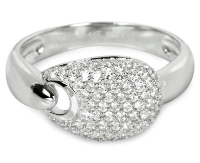 Silver Cat sidabrinis ring su kristalu SC106 (Dydis: 54 mm) Paveikslėlis 1 iš 1 310820023399