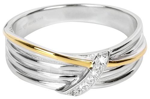 Silver Cat žiedas su cirkoniu SC189 (Dydis: 54 mm) Paveikslėlis 1 iš 1 310820050771