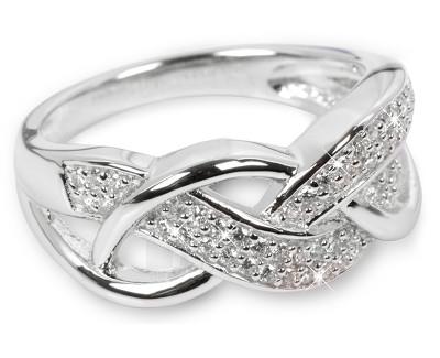 Silver Cat ring su kristalais SC109 (Dydis: 52 mm) Paveikslėlis 1 iš 1 310820050619
