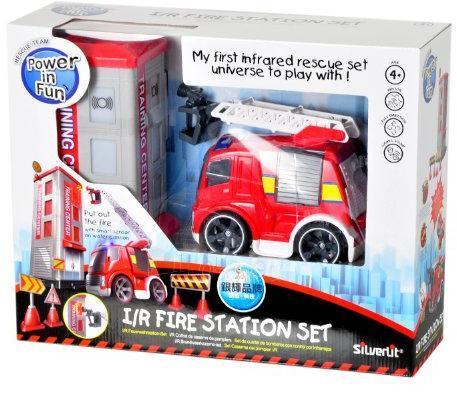 SILVERLIT I/R Fire Station with Fire Truck Paveikslėlis 1 iš 1 310820005588