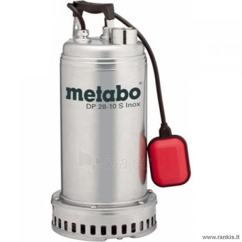 Siurblys Metabo DP 28-10 S Inox Paveikslėlis 1 iš 1 310820054563