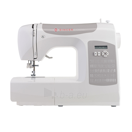 Siuvimo mašina Singer Sewing Machine C5205 Number of stitches 80, Number of buttonholes 1, White Paveikslėlis 1 iš 4 310820223942