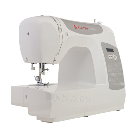 Siuvimo mašina Singer Sewing Machine C5205 Number of stitches 80, Number of buttonholes 1, White Paveikslėlis 2 iš 4 310820223942