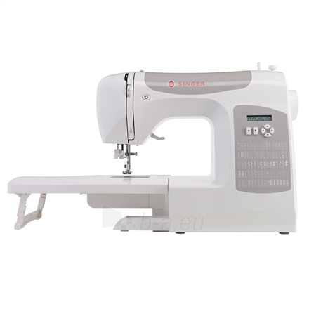 Siuvimo mašina Singer Sewing Machine C5205 Number of stitches 80, Number of buttonholes 1, White Paveikslėlis 3 iš 4 310820223942