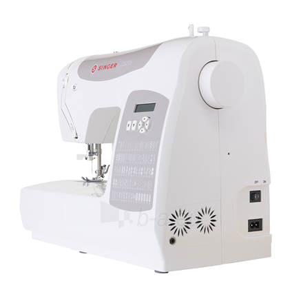 Siuvimo mašina Singer Sewing Machine C5205 Number of stitches 80, Number of buttonholes 1, White Paveikslėlis 4 iš 4 310820223942