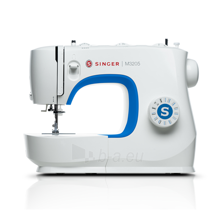 Sewing machines Singer Sewing Machine M3205 Number of stitches 23, Number of buttonholes 1, White Paveikslėlis 1 iš 1 310820221669