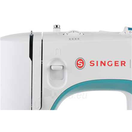 Sewing machines Singer Sewing Machine M3305 Number of stitches 23, Number of buttonholes 1, White Paveikslėlis 5 iš 6 310820223882