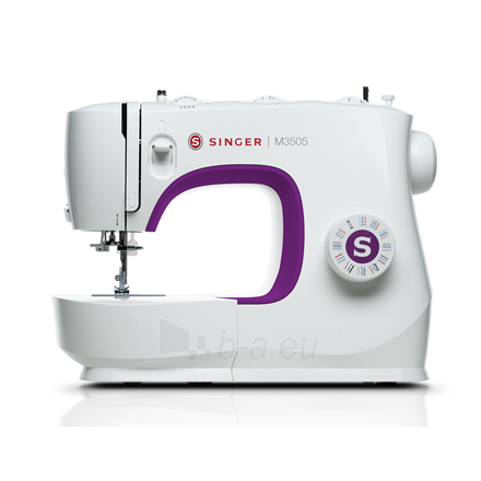 Siuvimo mašina Singer Sewing Machine M3505 Number of stitches 32, Number of buttonholes 1, White Paveikslėlis 1 iš 7 310820223881