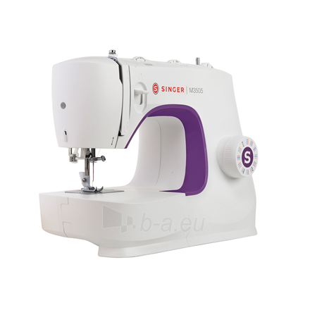 Siuvimo mašina Singer Sewing Machine M3505 Number of stitches 32, Number of buttonholes 1, White Paveikslėlis 2 iš 7 310820223881