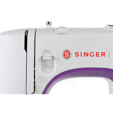 Siuvimo mašina Singer Sewing Machine M3505 Number of stitches 32, Number of buttonholes 1, White Paveikslėlis 6 iš 7 310820223881