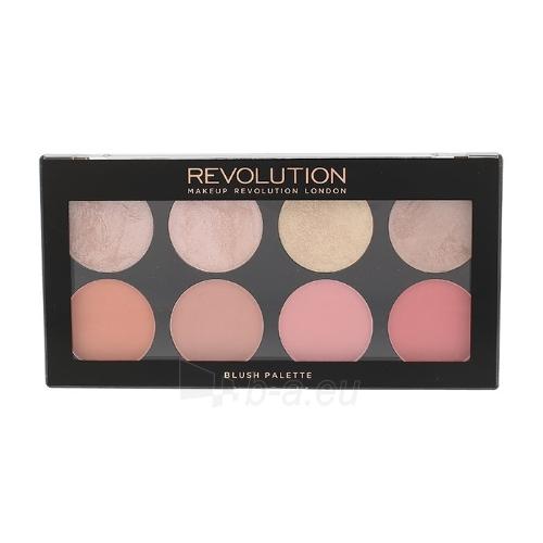 Skaistalai Makeup Revolution London Blush Palette Cosmetic 13g Palette 8 blushes, Shade Blush Goddess Paveikslėlis 1 iš 1 310820063199